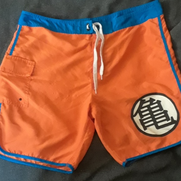 40b83696 Hot Topic Swim | Dragon Ball Z Trunks | Poshmark